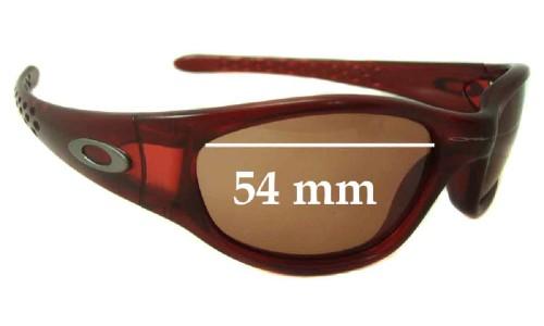 Sunglass Fix Sunglass Replacement Lenses for Oakley Ten Old - 54mm wide