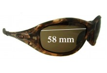 Sunglass Fix Sunglass Replacement Lenses for Oakley Encounter OO9091 - 58mm Wide