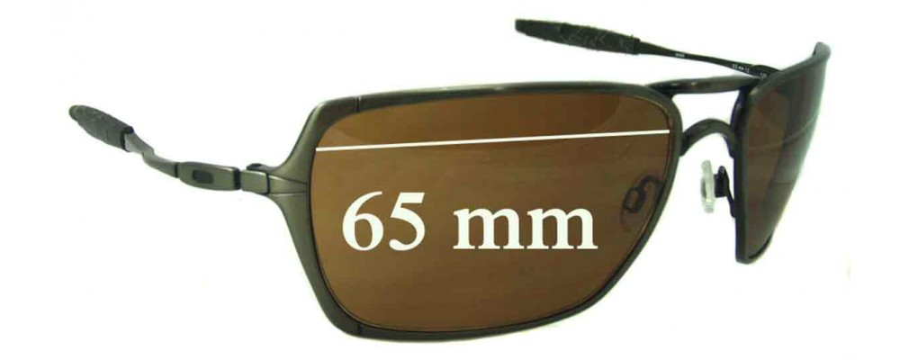 oakley inmate  Inmate Sunglass Replacement Lenses - 65mm Wide
