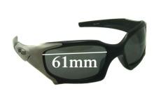 Sunglass Fix Sunglass Replacement Lenses for Oakley Pit Boss - 61mm Wide