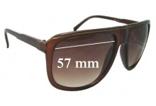 Sunglass Fix Sunglass Replacement Lenses for Unknown Brown - 57mm Wide