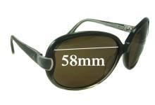 Sunglass Fix Sunglass Replacement Lenses for Paul & Joe -58mm Wide