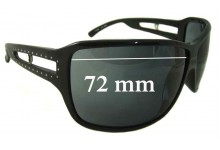 Sunglass Fix Sunglass Replacement Lenses for Police S1509S - 72mm Wide