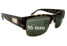 Sunglass Fix Sunglass Replacement Lenses for Prada SPR11M - 56mm Wide