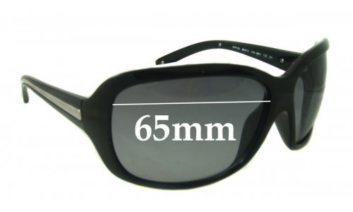 Sunglass Fix Sunglass Replacement Lenses for Prada SPR20I - 65mm Wide