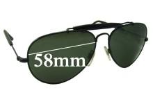 Sunglass Fix Sunglass Replacement Lenses for Ralph Lauren Polo 9503 - 58mm Wide
