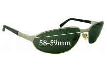 Sunglass Fix Sunglass Replacement Lenses for Ray Ban RB3107 - 58-59mm Wide