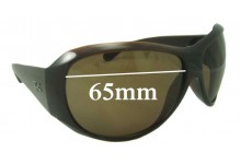 Sunglass Fix Sunglass Replacement Lenses for Ray Ban RB4104 - 65mm Wide