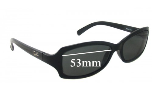 Sunglass Fix Sunglass Replacement Lenses for Ray Ban RB2130 - 53mm Wide