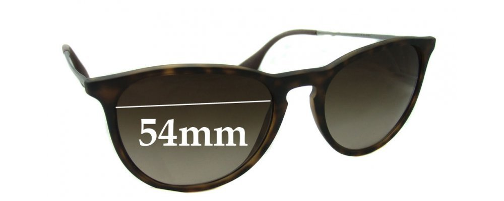 08ed500cba5 Sunglass Fix Sunglass Replacement Lenses for Ray Ban RB4171 ERIKA - 54mm  wide   Please measure as there are several models