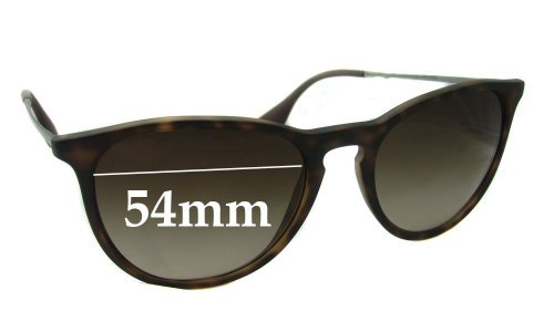 Sunglass Fix Sunglass Replacement Lenses for Ray Ban RB4171 ERIKA - 54mm wide **Please measure as there are several models**