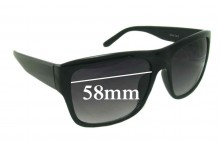 Sunglass Fix Sunglass Replacement Lenses for Redemption A-Z208 - 58mm Wide