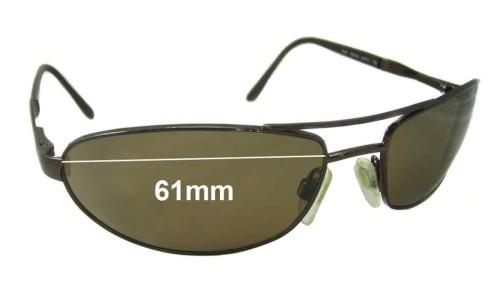 Sunglass Fix Sunglass Replacement Lenses for Revo 3035 - 61mm Wide