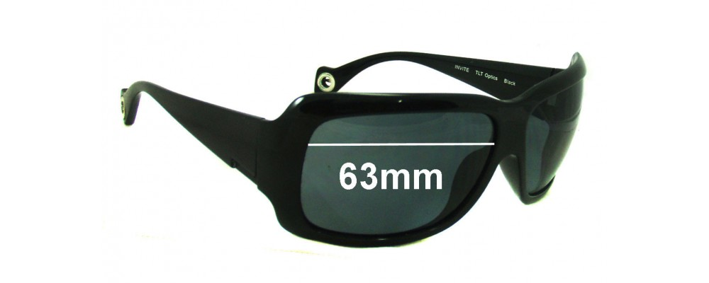 dc8d7be1d49c Sunglass Fix Sunglass Replacement Lenses for Smith Invite - 63mm wide