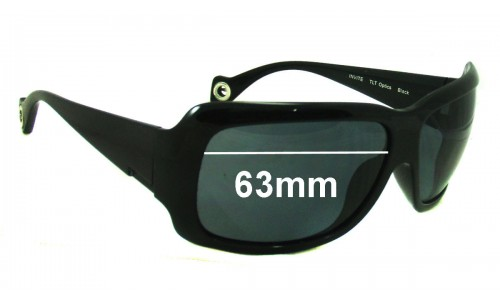 Sunglass Fix Sunglass Replacement Lenses for Smith Invite - 63mm Wide