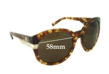Sunglass Fix Sunglass Replacement Lenses for Sabre Acid Aloha - 58mm Wide