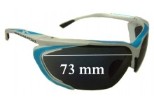 Sunglass Fix Sunglass Replacement Lenses for Specialized Team Tarzo - 73mm Wide