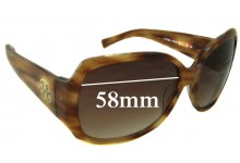 Sunglass Fix Sunglass Replacement Lenses for Tory Burch TY7004 - 58mm Wide