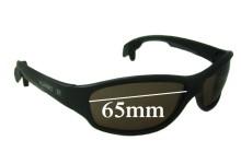 Sunglass Fix Sunglass Replacement Lenses for Vuarnet Pouilloux PA113 - 65mm Wide