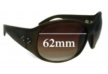 Sunglass Fix Sunglass Replacement Lenses for Blinde Unknown Model - 62mm Wide
