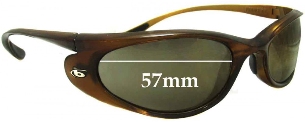 The Sunglass Bolle Downdraft By 57mm Replacement Lenses Fix™ Australia uFclJTK135