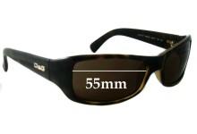 Sunglass Fix Sunglass Replacement Lenses for Dolce & Gabbana DG8027 - 55mm Wide
