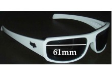 Sunglass Fix Sunglass Replacement Lenses for Fox The Matter - 61mm Wide