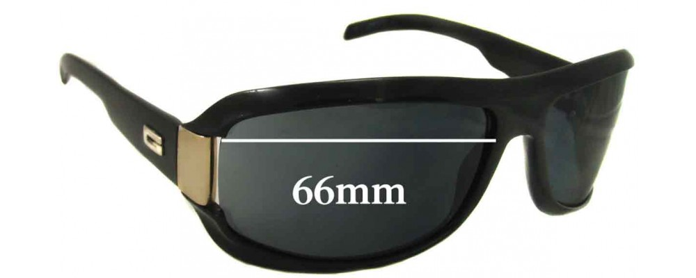 Sunglass Fix Sunglass Replacement Lenses for Gucci GG1511/S or /N/S - 66mm Wide