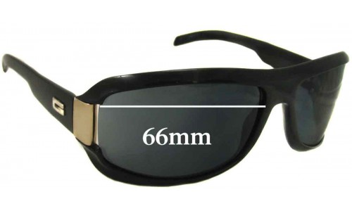 Sunglass Fix Sunglass Replacement Lenses for Gucci GG1511 NS or GG1511S - 66mm wide