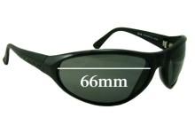 Sunglass Fix Sunglass Replacement Lenses for Legend Blow Fly - 66mm Wide