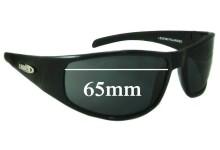 Sunglass Fix Sunglass Replacement Lenses for Legend Hurricane - 65mm Wide