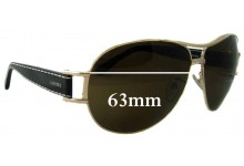 Sunglass Fix Sunglass Replacement Lenses for Loewe SLW 246 - 63mm Wide