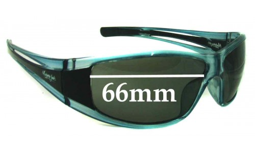 Sunglass Fix Sunglass Replacement Lenses for Mangrove Jacks Unknown Model - 66mm Wide
