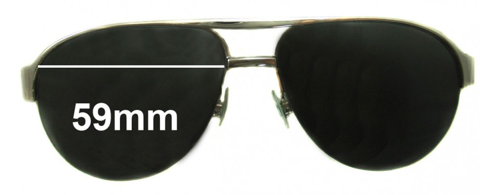Sunglass Fix Sunglass Replacement Lenses for Momo Design Eagle - 59mm Wide *MUST BE SENT TO OUR FACILITIES FOR CUSTOM FITTING*