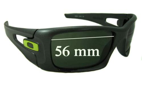 Sunglass Fix Sunglass Replacement Lenses for Oakley Crankcase - 56mm wide