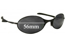 Sunglass Fix Sunglass Replacement Lenses for Oakley E Wire Generation 2 - 56mm Wide