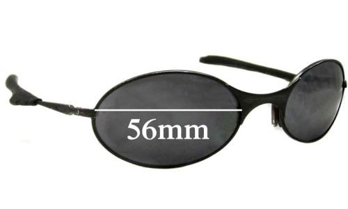 Sunglass Fix Sunglass Replacement Lenses for Oakley E Wire Generation 2 - 56mm wide