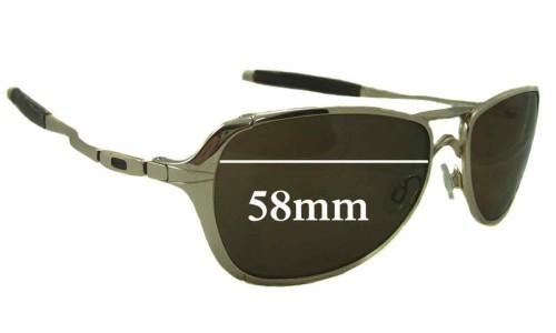 Sunglass Fix Sunglass Replacement Lenses for Oakley Felon - 58mm Wide