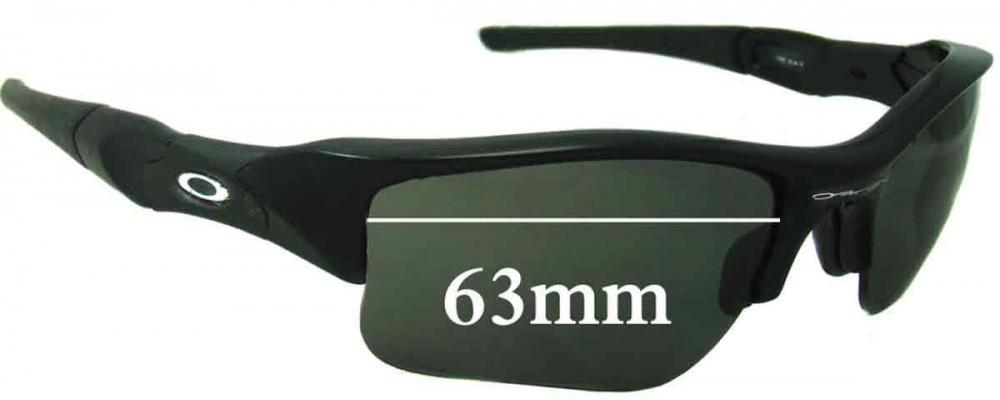 ce7737a9fa Oakley Flak Jacket XLJ Sunglass Replacement Lenses - 63mm Wide ...
