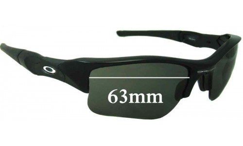 Sunglass Fix Sunglass Replacement Lenses for Oakley Flak XLJ - 63mm Wide