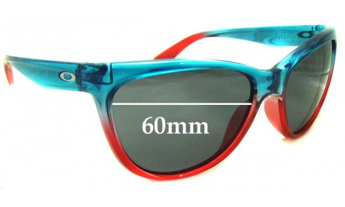 Sunglass Fix Sunglass Replacement Lenses for Oakley Fringe - 60mm Wide