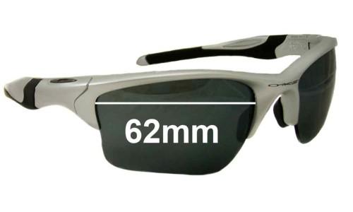 Sunglass Fix Sunglass Replacement Lenses for Oakley Half Jacket 2.0 XL OO9154 - 62mm Wide