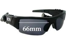 Sunglass Fix Sunglass Replacement Lenses for Oakley O ROKR Thump - 66mm Wide