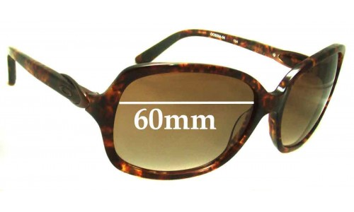 Sunglass Fix Sunglass Replacement Lenses for Oakley Obligation OO2034 - 60mm Wide