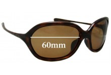 Sunglass Fix Sunglass Replacement Lenses for Oakley Warm Up OO9176 - 62mm Wide