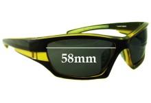 Sunglass Fix Sunglass Replacement Lenses for Ocean Eyewear - 58mm Wide