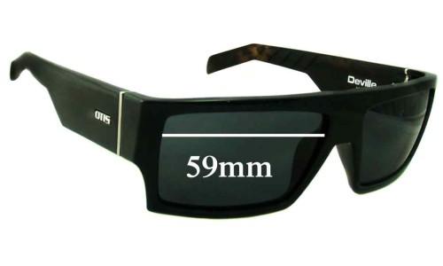 Sunglass Fix Sunglass Replacement Lenses for Otis Deville - 59mm wide