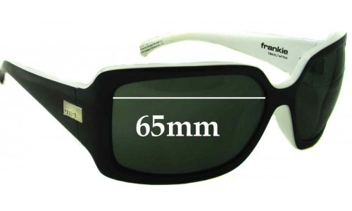 Sunglass Fix Sunglass Replacement Lenses for Otis Frankie - 65mm Wide