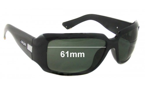 Sunglass Fix Sunglass Replacement Lenses for Otis Zoo - 61mm Wide