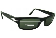 Sunglass Fix Sunglass Replacement Lenses for Persol 2831-S - 55mm Wide